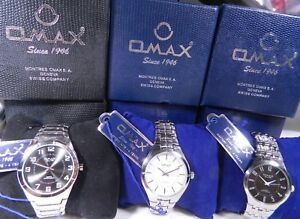 20af5791543 Details about NIB New In Box Men s Swiss OMAX Watch. New Battery. Extended  3 Year Warranty!
