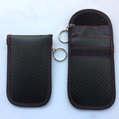 RFID Car Keyfob Signal Blocker Shield Guard Security Protector Faraday Pouch