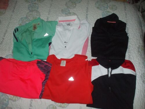 Adidas Izod polo shirts tee & long sleeve comfy at