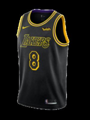 Nike Los Angeles Lakers Kobe Bryant #8 City Edition ...