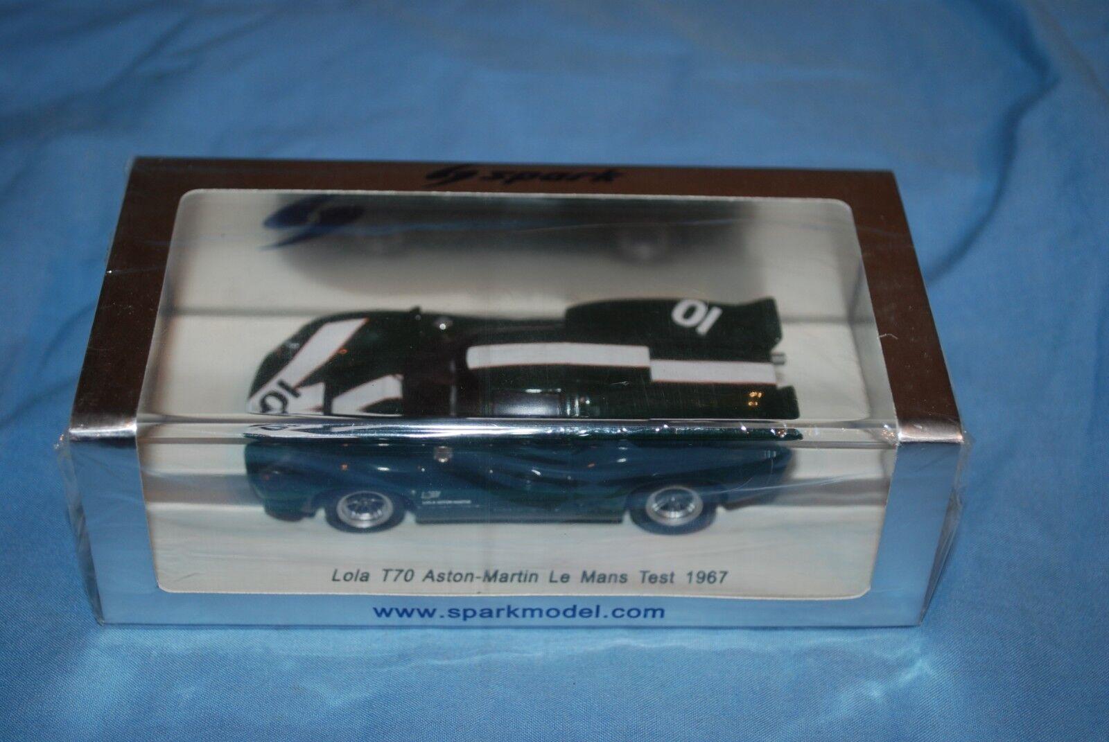 Spark Minimax Lola T70 Aston -Mkonstin LeMans Test 1967 Surtees NIB \S1262