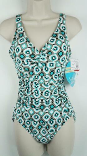 NWT Swim Solutions 1PC One Piece Bikini Swimsuit Many Sizes MSRP $99 #3246