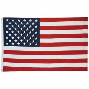 US-FLAG-3x5-Foot-Polyester-USA-American-Stars-Stripes-United-States-Grommets