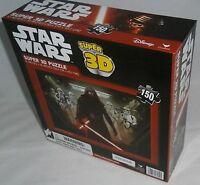 Star Wars Super 3-d Puzzle The Force Awakens 150 Pieces 12 X 18