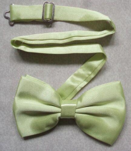 Bow Tie Mens NEW Bowtie Adjustable Dickie PALE LEMON YELLOW