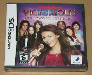 Victorious: Hollywood Arts Debut (Nintendo DS) Brand New / Fast Shipping