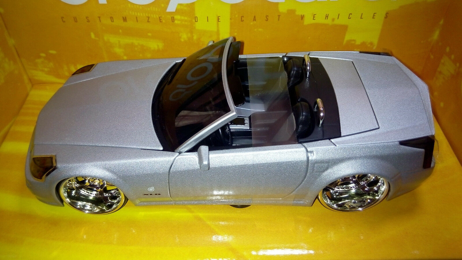 1 20 Cadillac XLR  cabrio  tuning  - HOT WHEELS  DROPSTARS -  3L 050
