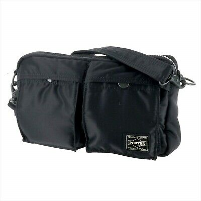 YOSHIDA PORTER TANKER SHOULDER BAG 622-69231 Black With tracking From JP