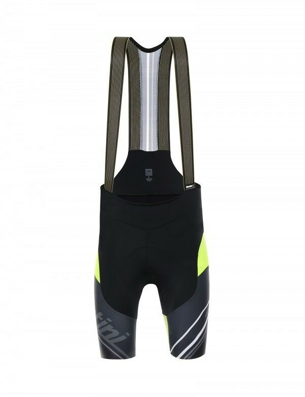 Salopette Santini Tonus black yellow  Fluorescent size XXL  for your style of play at the cheapest prices