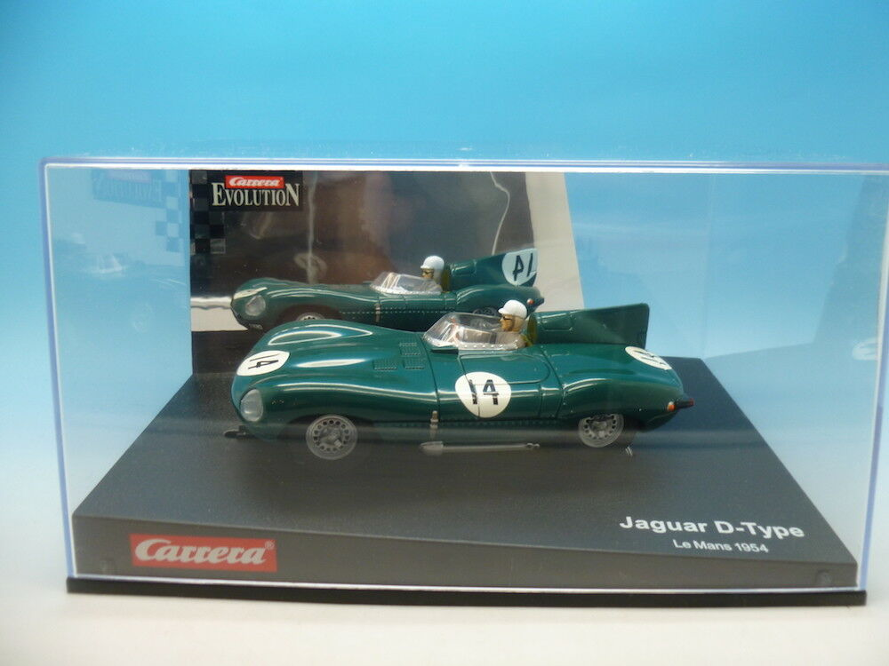 Carrera Carrera Carrera Evolution 25461 Jaguar D-Type  Le Mans 54  mint unused 41cf88