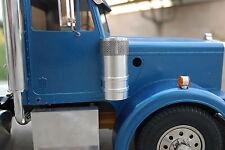 Custom Pair Aluminum Air Cleaner Intake Tank Tamiya R/C 1/14 Semi King Hauler