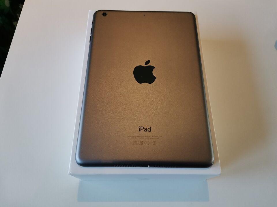 iPad mini 2, 16 GB, sort