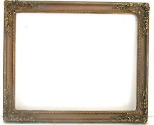 ANTIQUE   GREAT QUALITY GILT FRAME FOR PAINTING  20  X 16 INCH  (f-8)