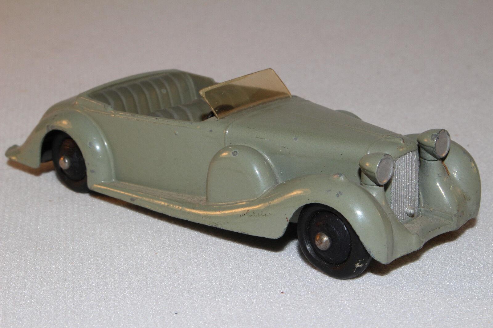 1950's Dinky c Lagonda Congreenible, Grey with Grey Interior, Nice Original