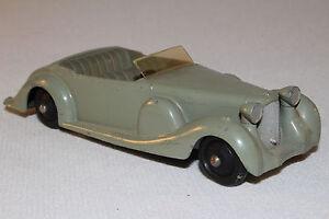 594ms Dinky 38c Lagonda Convertible, Gris Avec Intérieur, Agréable Original