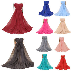 Women-039-s-Muslim-Long-Hijab-Shawl-Scarf-Islamic-Wrap-Arab-Headscarf-Amira-180-85cm