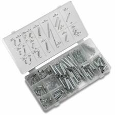200 Pcs Spring Assortment Kit Shop Kit w// Case Carburetor Flat Hoop Dash