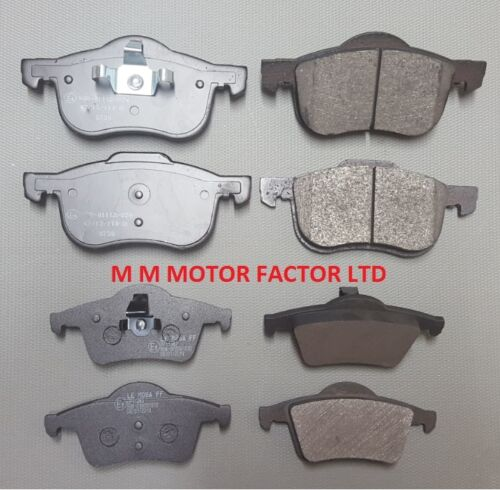 98- 2.0 2.3 2.4 2.5 2.8 TURBO T D5 FRONT and REAR BRAKE PADS SET VOLVO S60 S80