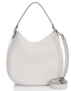 $325 NEW Rebecca Minkoff Unlined Convertible Hobo With Whipstich Leather Handbag