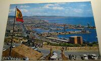 Spain Barcelona El Puerto desde el Castillo de Montjuich 3.045 - posted 1971