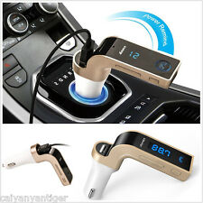 Wireless Bluetooth FM Transmitter Handsfree Call Radio Adapter MP3 Car Charger