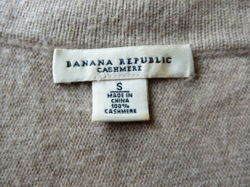 Beige Scoopneck Republic shmere Baby Cardigan Dolman pop Sweater Banana S 100 BpRfx