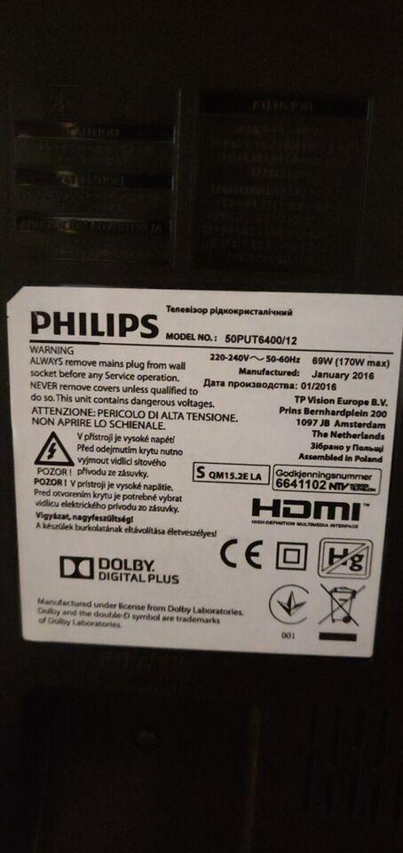 LED, Philips, 50PUT6400/12