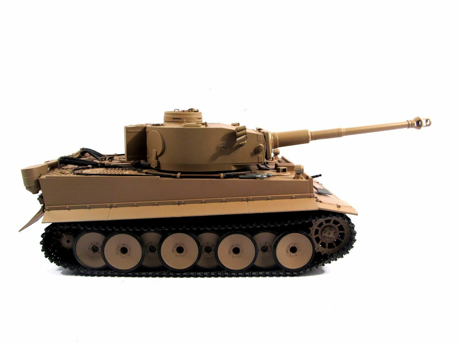 Mato 1 16 tutti Metal Geruomo Tiger I  RC Tank RTR Infrarosso gituttio Coloree modello 1220  nuovo stile