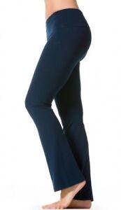 db26f243ec360 Image is loading Hardtail-Yoga-Pants-Organic-Roll-Down-Bootleg-Flared-