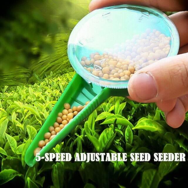 Adjustable Size Sower Garden Plant Seed Dispenser Planter Seeder Gardening  Tools for sale online   eBay