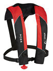 Onyx Manual Inflatable Life Jacket Vest - Red - Includes CO2 Kit -USCG Approved