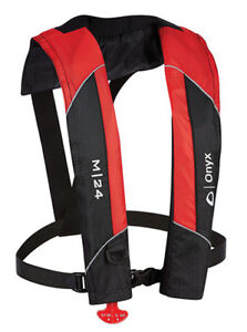 Onyx-Manual-Inflatable-Life-Jacket-Vest-Red-Includes-CO2-Kit-USCG-Approved