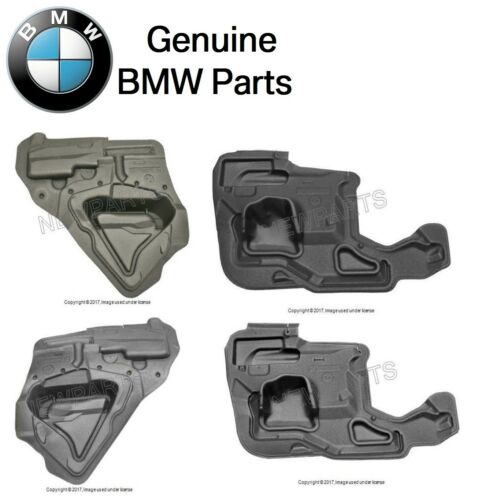 For BMW E53 0006 X5 Set of 2 Front & 2 Rear Door Panel Insulation Genuine