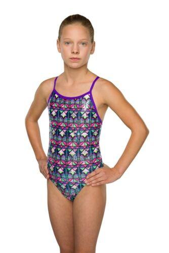 Maru Junior Swimsuits Cheyenne Sparkle Fly Back Multi
