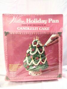 WILTON CAKE PAN MOLD 3D 3-D STAND UP CHRISTMAS TREE ...