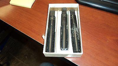 Set of 3 Cleveland C27666 5//8-18 Hand Taps H5 Straight 6-Flute MBTM Cobalt