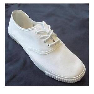 Oxford Qualité En Chaussures Toile Obsolète Pakistanais Plates Blanc rvAUHnr