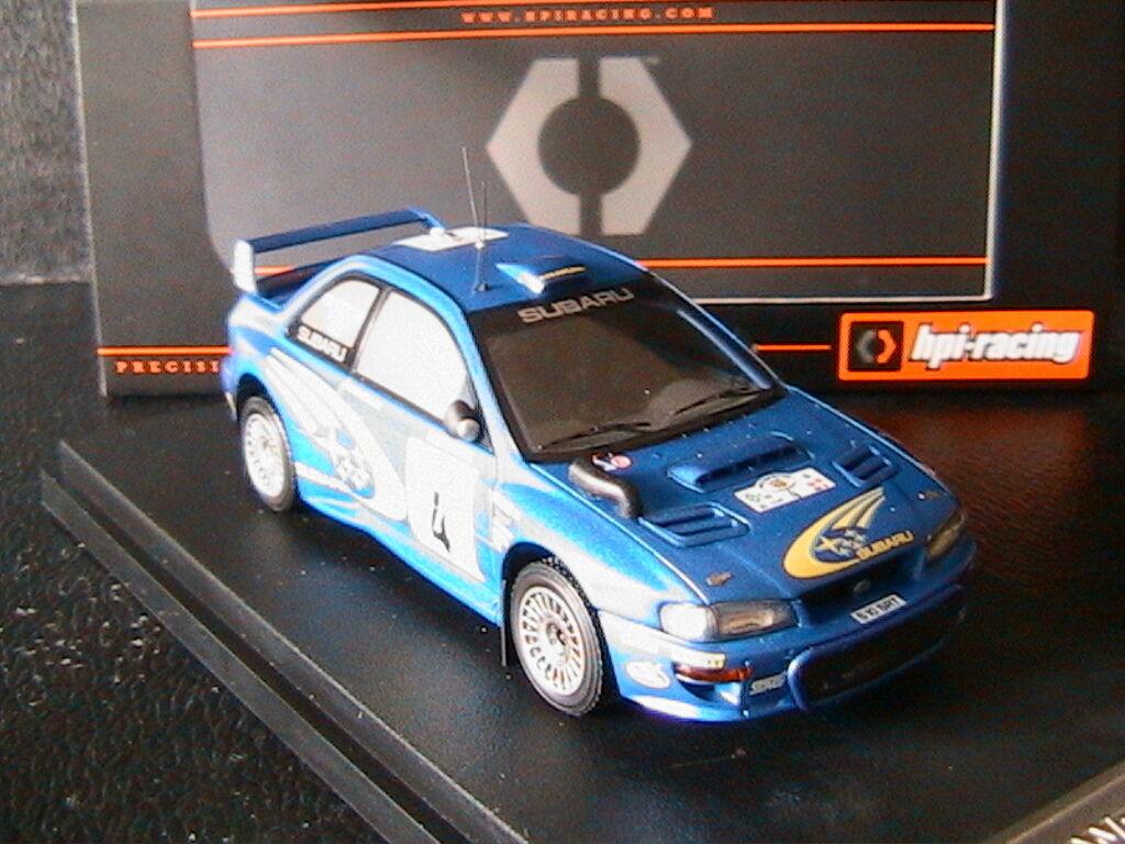 SUBARU IMPREZA WRC KANKKUNEN REPO SAFARI RALLY 2000 HPI RACING 8638 1 43