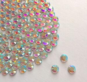 Diamante-Me-Crystal-AB-Nail-Art-Rhinestone-Gems-Beautiful-Sparkly-AAA-Quality