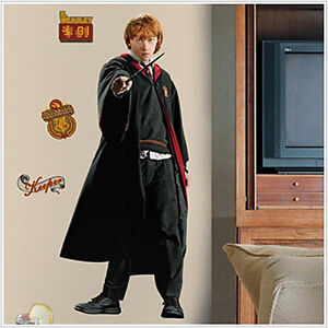 Ron Weasley Harry Potter Wall Stickers Mural Decals 50 Inches Tall