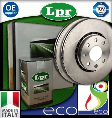 DISCHI FRENO E PASTIGLIE LPR FIAT PUNTO 1.8 HGT dal 1999 al 2003 ANTERIORE