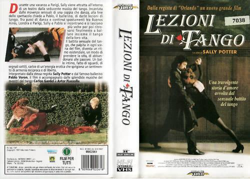 LEZIONI DI TANGO (1997) VHS