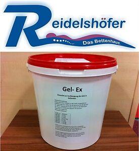 Gel Ex 3 Kg z.Verflüssigun<wbr/>g v.Gelbett, Gelbetten Gel Bett GelEx Gel Wasserbett