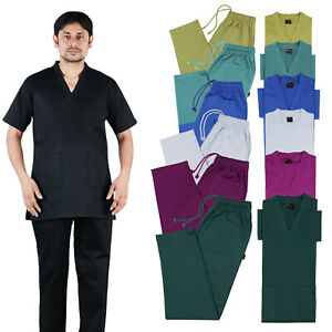 Medical TOP AND TROUSER SET 100% Cotton Excellent Quality Medical Scrub UNIFORM