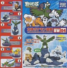 Yujin Takara Tomy Pokemon 1/40 DP Zukan BW 04 Figure Full Set
