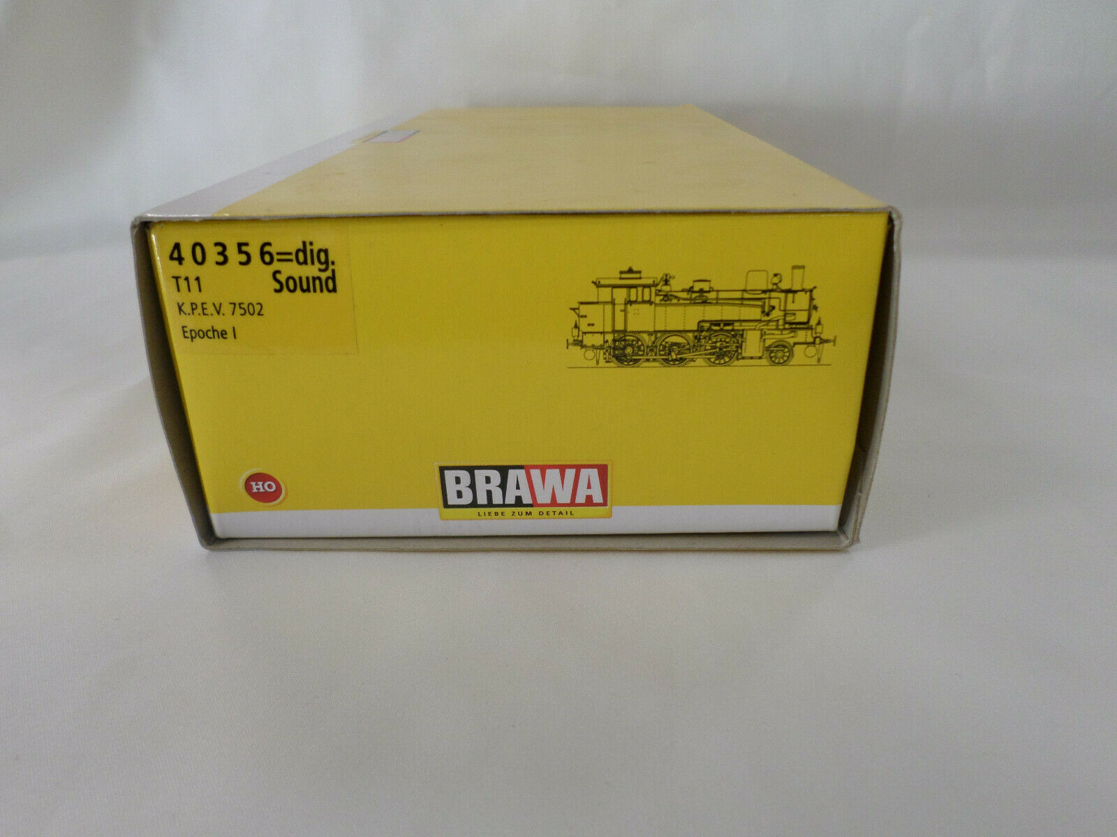 Brawa 40356 HO T 11 K.P.E.V. Steam Locomotive, 2 Rail, Digital, Sound