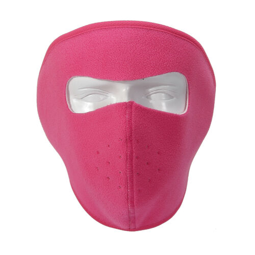Men Women Winter Cold-Proof Face Mask Fleece Warmer for Ski Bicycle Motorcycle