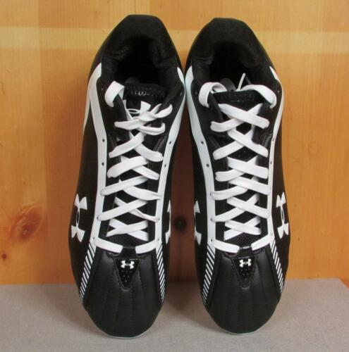Zapatos Talla Fútbol Armour Negro 13 Bajo ¡nuevo 5 Tacos Under Heat Hombre Gear wxqF1S4E4