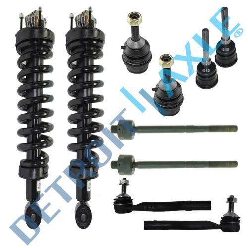 2003 2004 2005 Lincoln Town Car Ford Crown Vic Front Strut Set Ball Joint Tierod