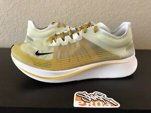 baa4ffac1a631 NIKE ZOOM FLY SP DAMN CITRON BLACK DARK CITRON AJ9282 300 US MENS SZ ...
